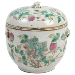 Covered Pot China, End of the 19th Century