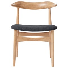 Cow Horn Oak Chair, by Knud Færch from Warm Nordic