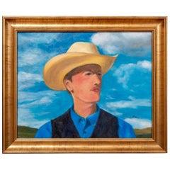 Cowboy in Blue, 2019