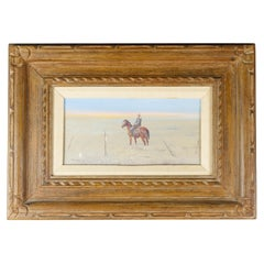 """""""Cowboy on the Plains"""" Original Oil Painting by Ace Powell"""