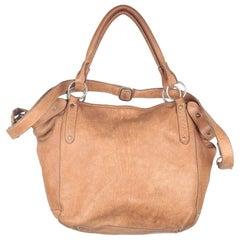 COWBOYSBAG Tan Leather Tote Urban Shoulder Bag with Strap