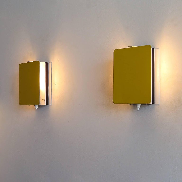 Metal CP-1 Wall Lights by Charlotte Perriand, 1960 For Sale