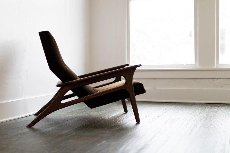 Craft Associates Modern Lounge Chair, 2002, the Parallax For Sale 4