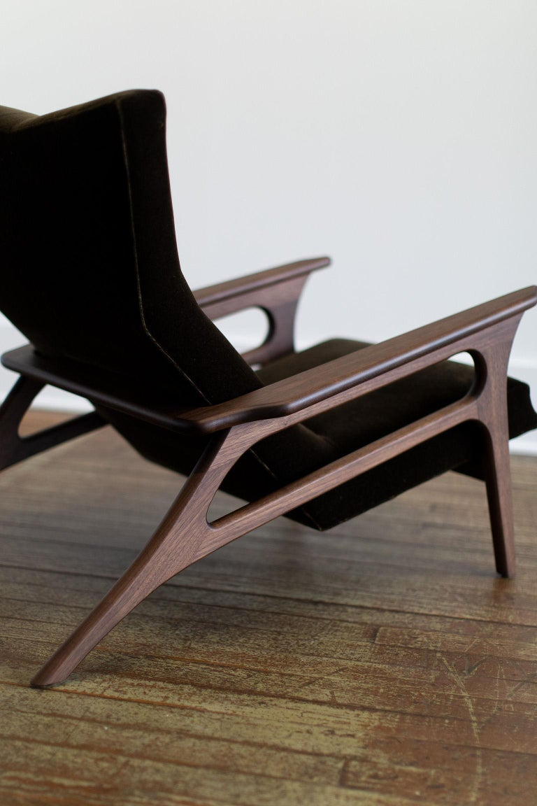 Craft Associates Modern Lounge Chair, 2002, the Parallax In New Condition For Sale In Oak Harbor, OH