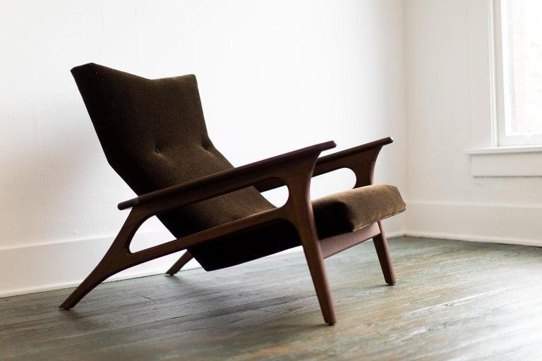 Craft Associates Modern Lounge Chair, 2002, the Parallax For Sale 2