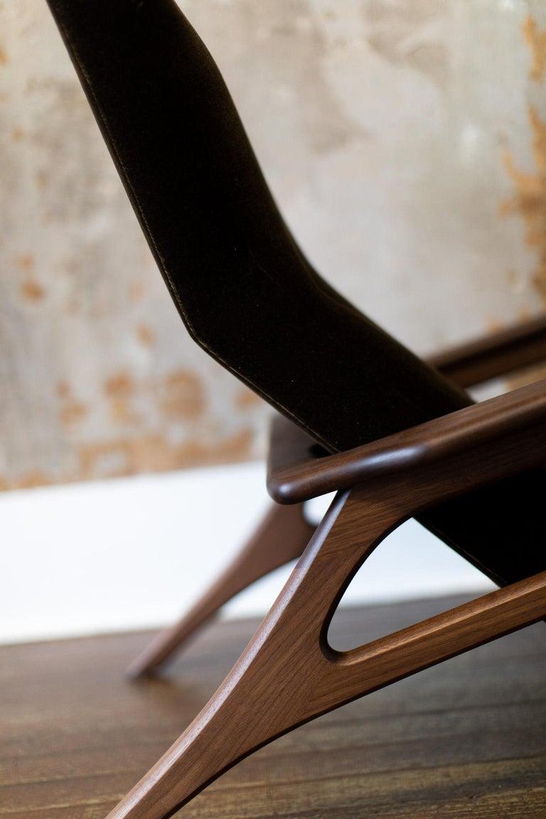 Craft Associates Modern Lounge Chair, 2002, the Parallax For Sale 3