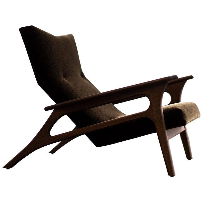 Craft Associates Modern Lounge Chair, 2002, the Parallax For Sale