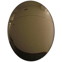 Crafted Frameless Orbis Bronze Convex Mirror 80cm/31.4in