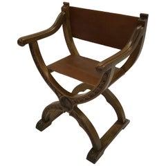 Craftsman Campaign Prayer Chair