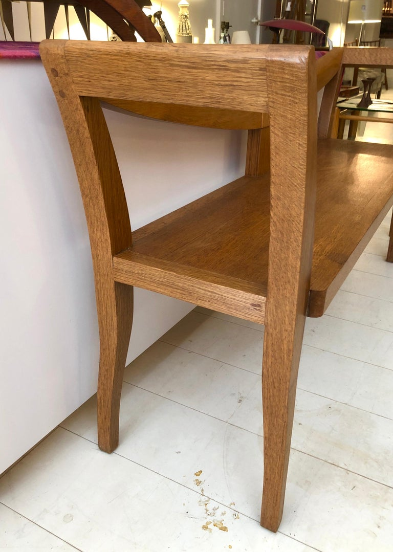 20th Century Craftsman Studio Bench For Sale