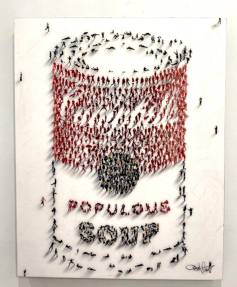 """Craig Alan Figurative Painting - 'Populus Homage' - """"Populus Soup"""""""