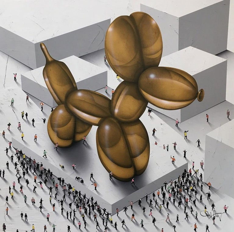 "Populus, ""Underdog""  - Mixed Media Art by Craig Alan"