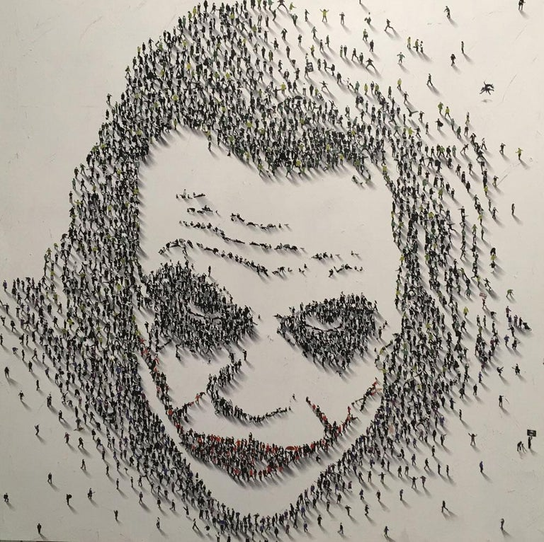 """Populus, """"Why So Serious?""""  - Mixed Media Art by Craig Alan"""
