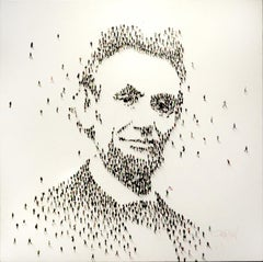 Contemporary Populus Portrait by Craig Alan, Abraham Lincoln
