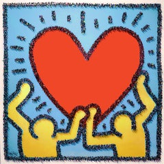 """Creature Condition"" -  pop art, love, heart, together, populus, pop culture"