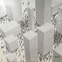 """Populus, Conceptual """"Monolith Town"""""""