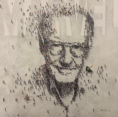 """Populus, Limited Edition Giclee - """"Marvelous Stan Lee"""""""