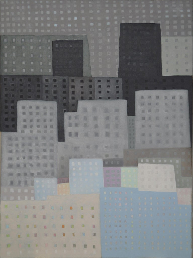 Craig Carlisle Landscape Painting - Downtown