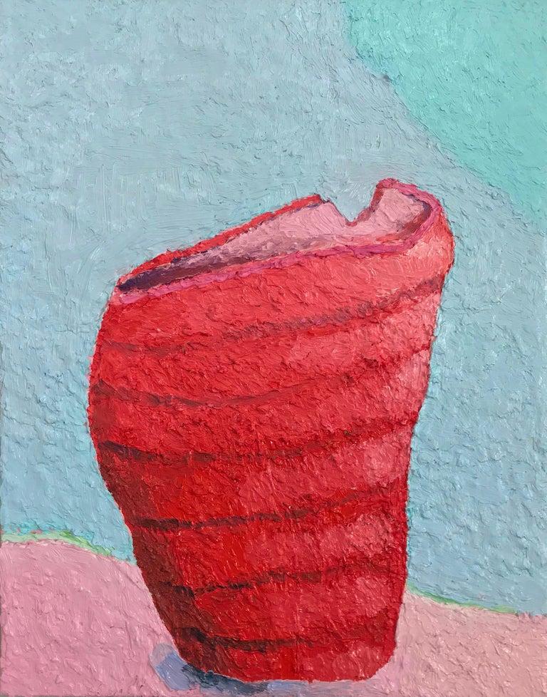 Craig Carlisle Still-Life Painting - The Broken Vase