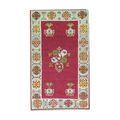 Cranberry Field Turkish Scatter Handwoven Rug