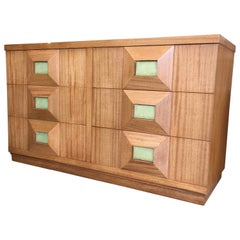 Crane & MacMahon Pyramid Front Modernist Chest of Drawers