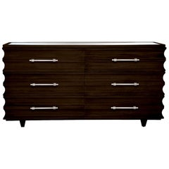 Crawford Dresser in Lacquered Coffee by Badgley Mischka Home