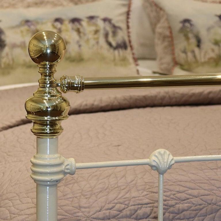 Victorian Cream Antique Bed, MD89