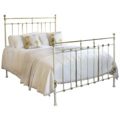 Cream Antique Bed - MK181