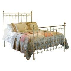 Cream Antique Bed MK183