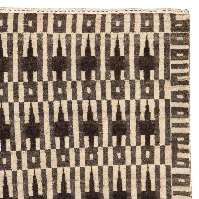 """Measuring 8' x 10'2"""", this contemporary Persian rug belongs to Orley Shabahang's Architectural Collection. Titled"""