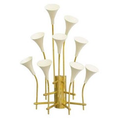Cream Trumpets Sconce