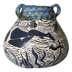 Creation Myth Ceramic Vase