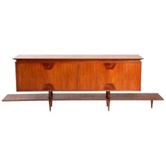 Mid-century modern Credenza by Giuseppe Scapinelli