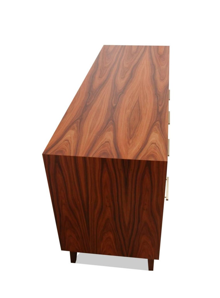 Credenza Record Cabinet for Vinyl LPs and Audio/Visual Storage In New Condition For Sale In New York, NY