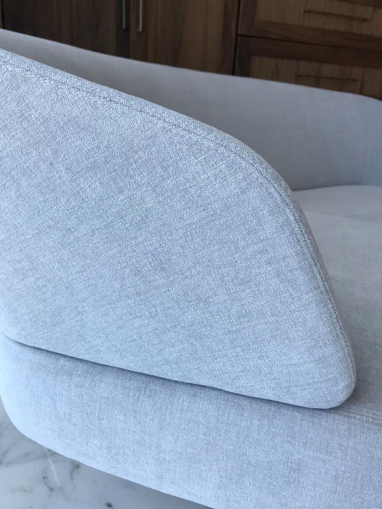 Creed Curved Loveseat Designed by Minotti, Italy For Sale 3