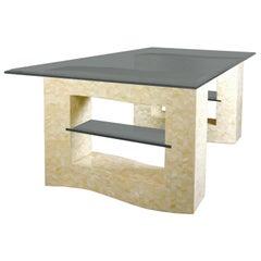 Creme Bone Dining Table Base