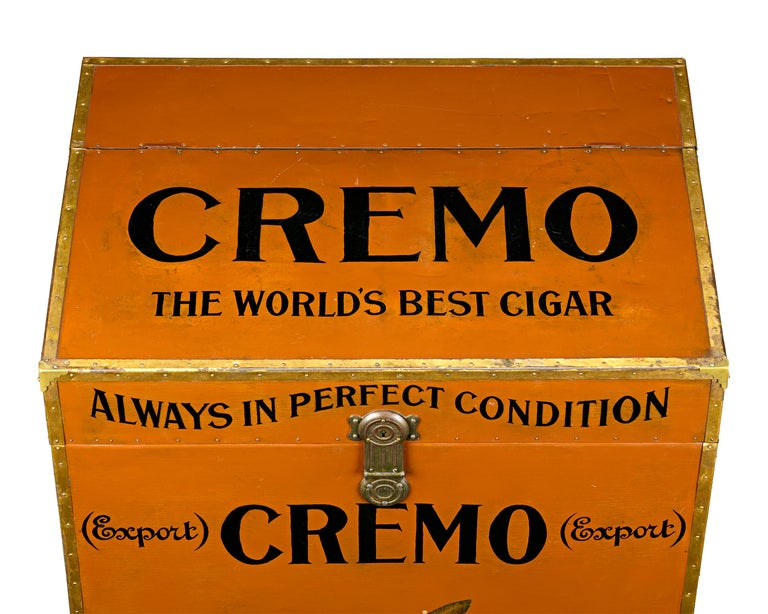 American Cremo Cigar Humidor Trunk For Sale