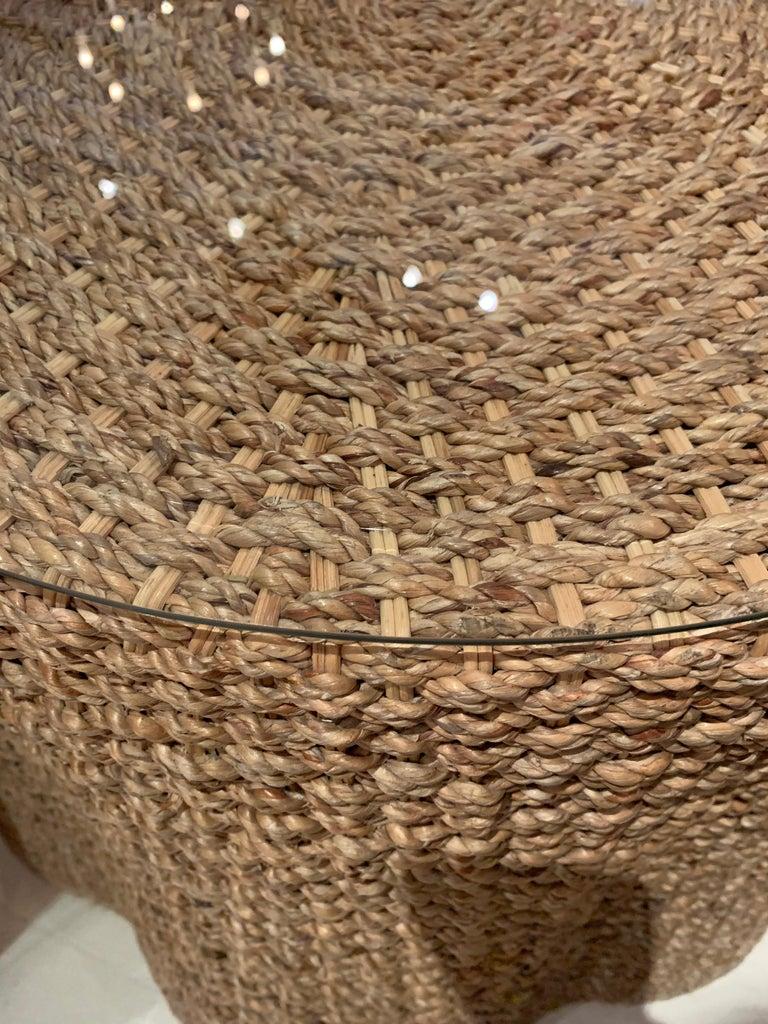 Jute Vintage Rope Tables For Sale