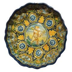 Crespina Montelupo Dish, Mid-16th Century