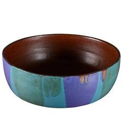 Cressey Stoneware Planter with Drip Glaze