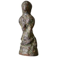 "Crete, Minoan Bronze Female ""Snake Goddess"" Votary"