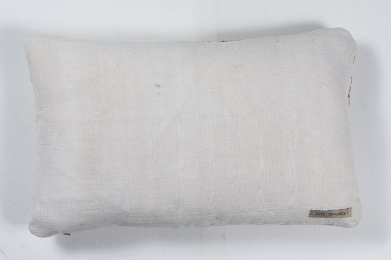 Embroidered Crewel Embroidery Pillows For Sale