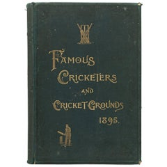 Cricket Book, Famous Cricketers and Cricket Grounds, 1895