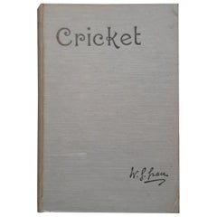 Cricket by W.G. Grace '1891'