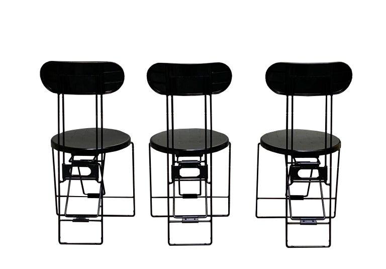 Italian Cricket Chairs Andries Van Onck & Kazuma Yamaguchi for Magis, 1983 For Sale