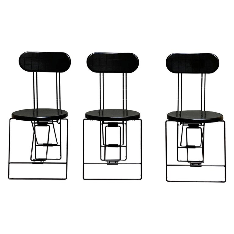 Cricket Chairs Andries Van Onck & Kazuma Yamaguchi for Magis, 1983 For Sale