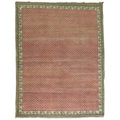 Crimson Vintage Turkish Anatolian Rug