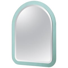 Cristal Art Faceted Mirror, 1970s, Italy