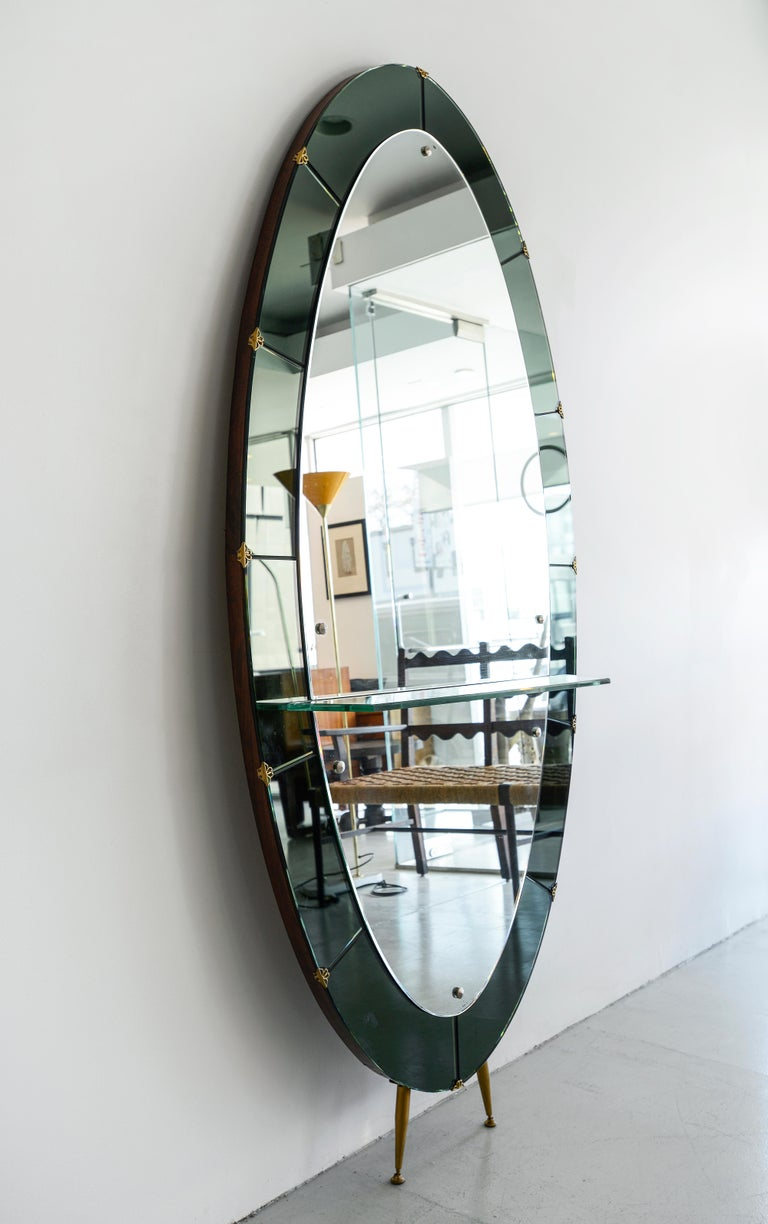 Cristal Art Mirror In Good Condition For Sale In Los Angeles, CA