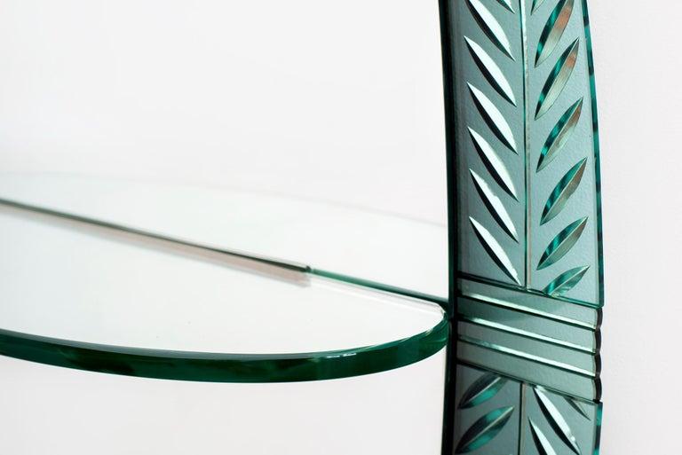 Mid-20th Century Cristal Art Mirror For Sale